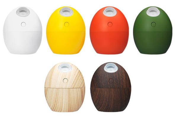 オフィスの乾燥対策に!たまご形USB加湿器が新発売
