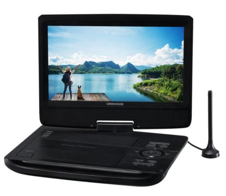 テレビもDVDも楽しめる!<br>10.1型液晶搭載ポータブルDVDプレーヤー新発売