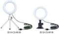 動画配信やオンライン会議の映りが良くなる!<br>リング型LEDライト2製品を新発売!