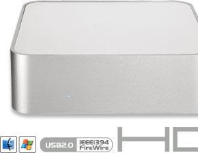 Mac miniにぴったりフィット!3.5インチ外付けHDドライブシステム新発売!