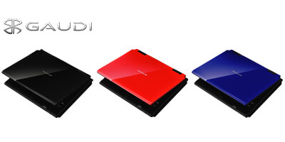 3色から選べるスタイリッシュなポータブルDVDプレーヤーが新登場!