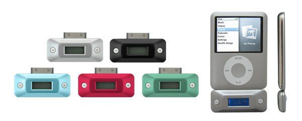 iPod nanoにピッタリサイズ!iPod用FMトランスミッター新発売!