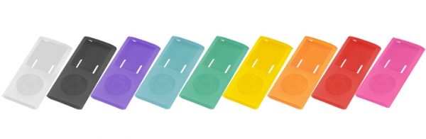 最新の第4世代iPod nano専用シリコンケースが新登場!