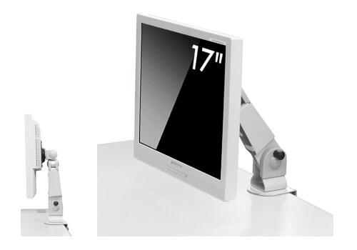 耐震用17型液晶ディスプレイ+アームセットモデル新発売!