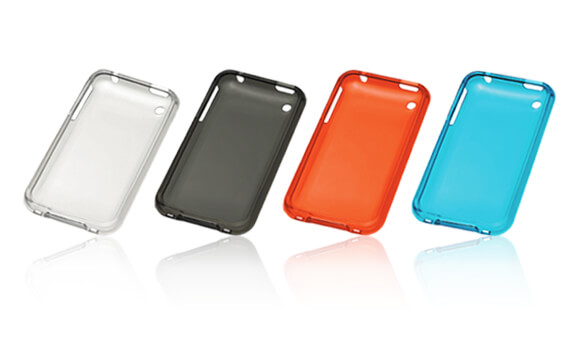 iPhoneにぴったりフィットして背面を保護「iPhone 3GS用ソフトクリアシェル」新発売