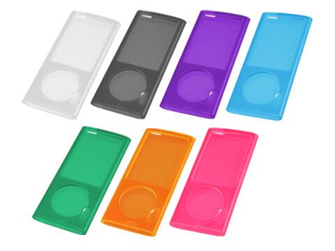 第5世代 iPod nano専用ソフトクリアシェルが新発売!