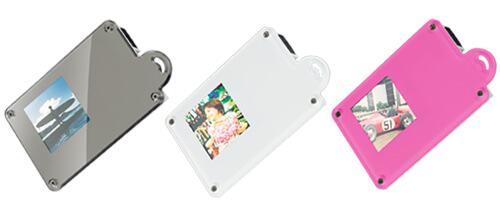 お気に入りの写真を持ち運べる!カード型デジタルフォトフレーム新発売