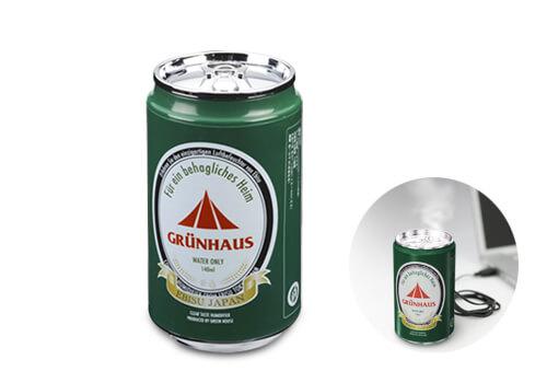 渇いたオフィスに潤いを!缶ビールの形をしたUSB加湿器が新発売
