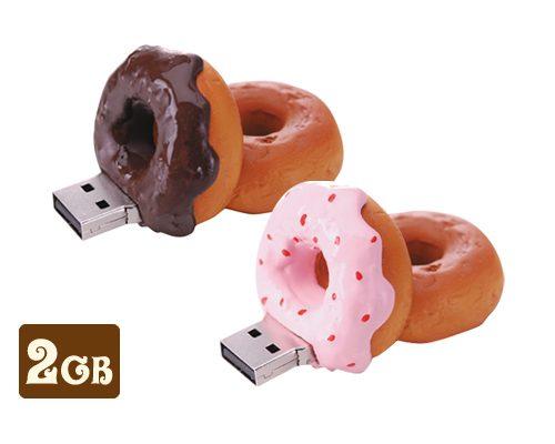 ドーナツの形をしたUSBメモリーの2GBを新発売!