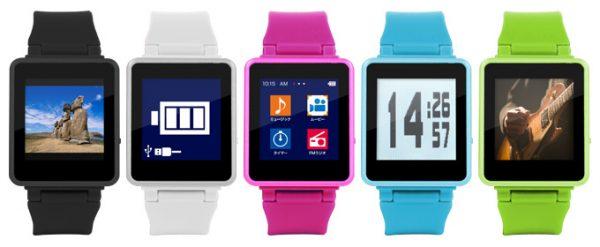 腕時計とクリップの2Wayデジタルオーディオ!kana Watch(カナ・ウォッチ)」新発売