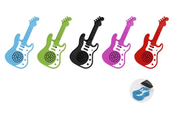 エレキギター型ポータブルスピーカーが新発売!
