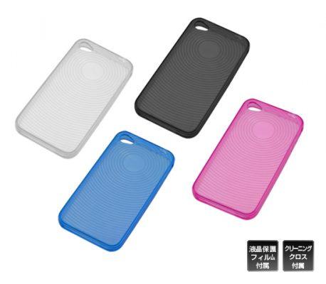 しなやかで強靭なTPU素材を採用、「iPhone 4用ソフトクリアシェル」新発売