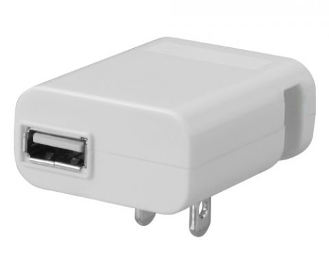 iPhone/iPodをACコンセントから充電できるUSB-AC充電器が新発売!