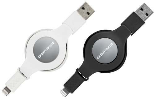 Lightningコネクタ対応巻き取り式USB充電・データ転送ケーブル新発売!