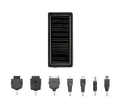太陽光で充電できる!1000mAhバッテリ搭載のマルチソーラーチャージャー新発売