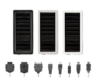 スマートフォンも 太陽光で充電できる!1000mAhバッテリ搭載のマルチソーラーチャージャー新発売