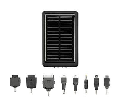 スマートフォンも太陽光で充電できる!大容量2000mAhバッテリ搭載のマルチソーラーチャージャー新発売
