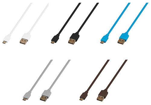 表でも裏でも挿し込む向きを気にせず使えるリバーシブルmicroUSB充電・データ転送ケーブル新発売!