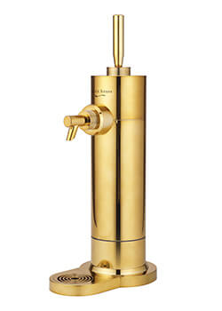 さらにプレミアム。スタンド型ビアサーバーに限定ゴールドモデルが新登場