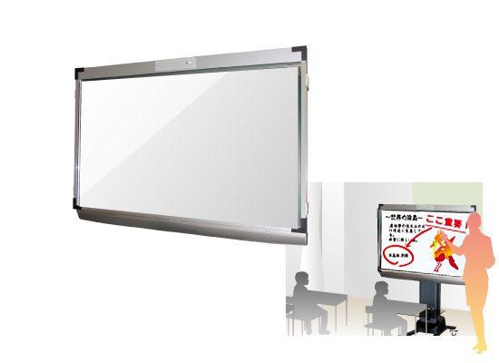 既存の薄型テレビに取り付けられる外付け電子黒板新発売!