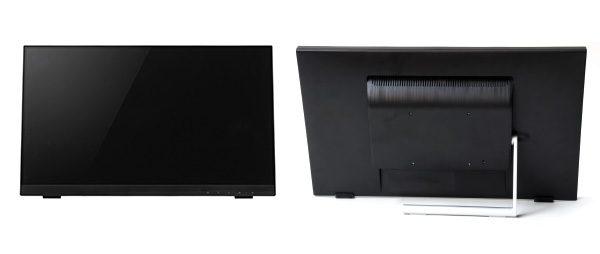 10ポイントの マルチタッチに対応した21.5型ワイドタッチパネル液晶ディスプレイ新発売!
