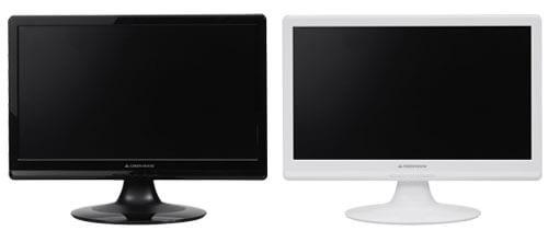 白色LEDバックライト搭載、低消費電力パネル採用の18.5型ワイド液晶ディスプレイ新発売!