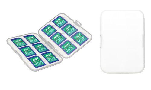 最大12枚のSDカードが収納可能な大容量タイプのSDカードケース新発売!