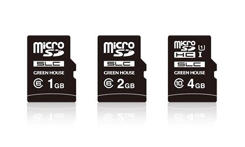 インダストリアル(工業用)向けSLCチップ採用microSDHCカード 新発売!