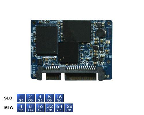シリアルATA-II対応Half-Slimタイプの小型SSD新発売!