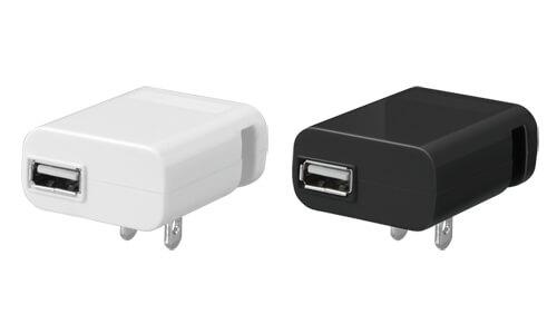 iPhoneやスマートフォンをACコンセントから充電できるUSB-AC充電器が新発売!