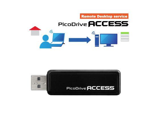 外出先から会社のパソコンを操作!手軽なリモートアクセスサービス「PicoDrive ACCESS」