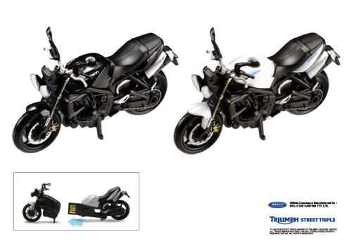 Triumph(トライアンフ) STREET TRIPLEのバイク形USBメモリー新発売!