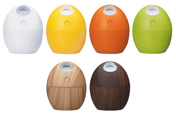 乾いたオフィスにかわいく潤い!たまご形USB加湿器が新発売