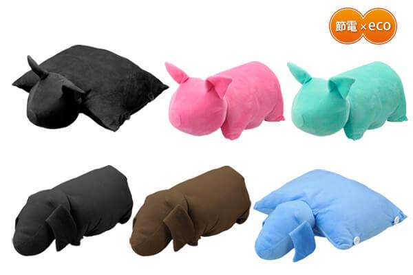 冬もUSBで節電!動物の形をしたUSBほかほかクッションが新発売