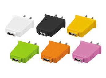 コンセントで直接USB機器を使える!コンセント型USB-ACアダプタ「エネプラグ」新発売!