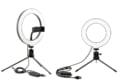 オンライン会議の映りが良くなる! リング型LEDライトを新発売