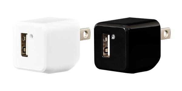 1ポート コンパクト USB-AC充電器を新発売!