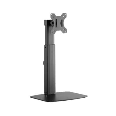 画面の昇降機能付き、スタンドタイプの液晶ディスプレイ用アーム新発売!