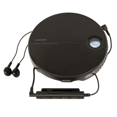 FMラジオ付きポータブルCDプレーヤーが新発売