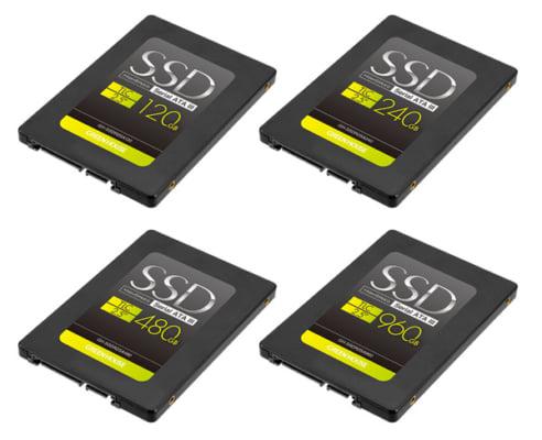 読込速度520MB/s、2.5インチシリアルATA-III対応120GB~960GBの高速SSD新発売!
