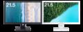 HDCP対応 DisplayPort搭載、広視野角IPSパネル採用<br>21.5型ワイド液晶ディスプレイ新発売