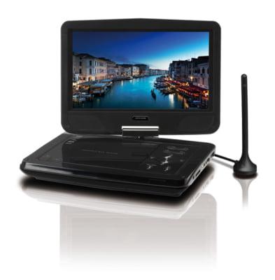 テレビもDVDも楽しめる! 10.1型液晶搭載ポータブルDVDプレーヤー新発売