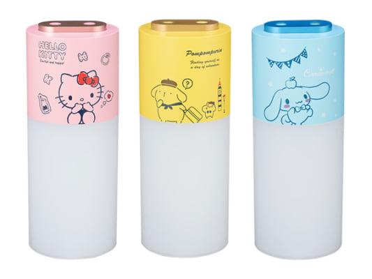 サンリオキャラクターの充電式ポータブル加湿器が新発売