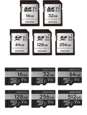 """UHSスピードクラス1 / ビデオスピードクラス V10に対応した<br class=""""pc"""">SDHC/SDXCカード、microSDHC /microSDXCカード新発売!"""