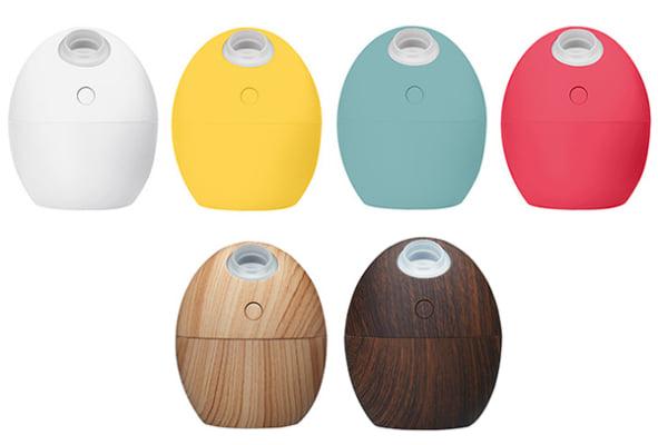 オフィスの乾燥対策に! たまご形USB加湿器が新発売