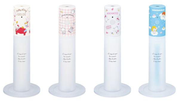 サンリオキャラクターのスティック型USB加湿器が新発売
