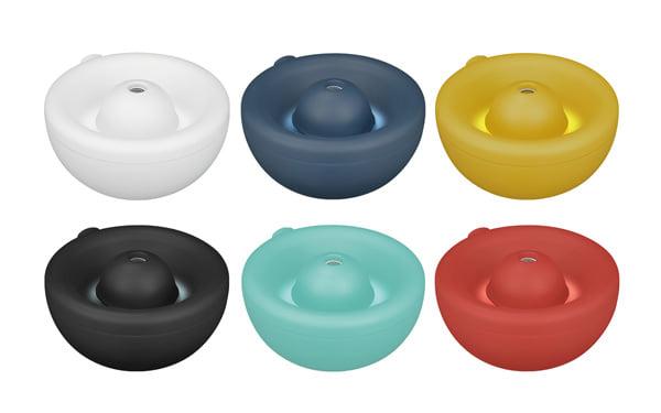 給水が簡単でこぼしにくい!上面給水USB加湿器が新発売