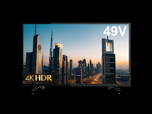 4K/HDR対応49型で39,800円!<br>ゲオショップ・ゲオオンラインストア限定で発売開始